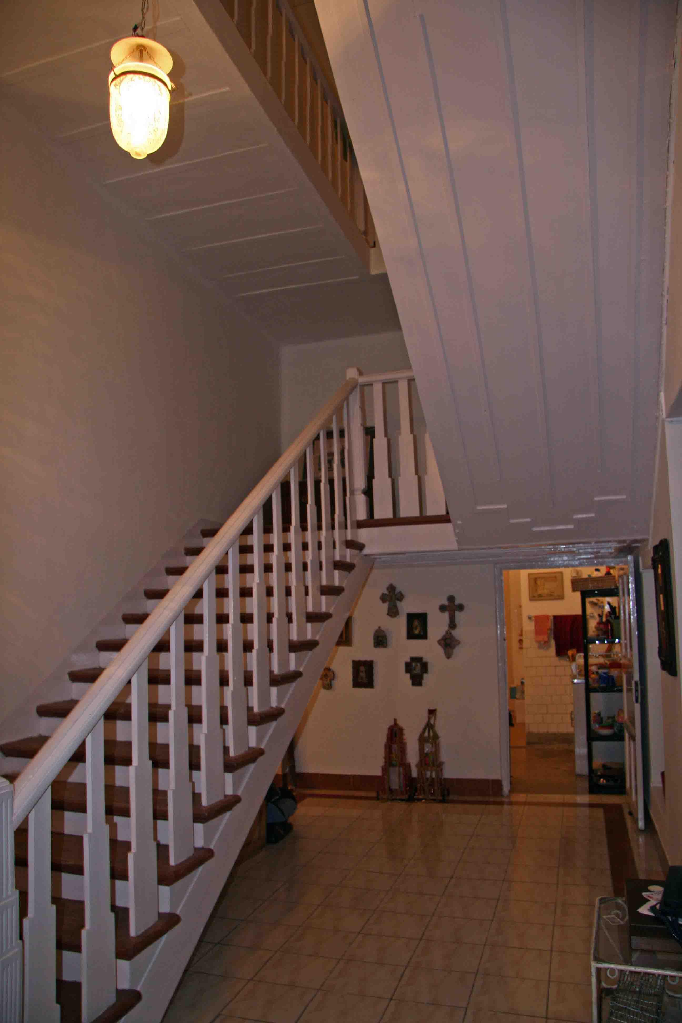 Les boscq a calcutta l interieur de la maison - Escalier interieur maison ...